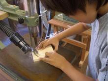 電動糸ノコで作る動物の型抜き工作