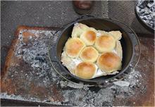 甲州名物ほうとう作り・ダッチオーブンでパン作り