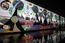 昇仙峡影絵の森美術館見学