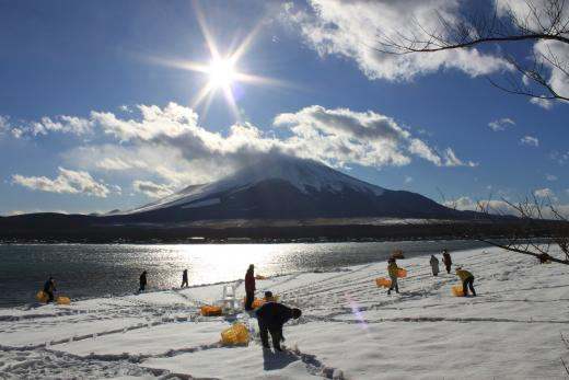 山中湖 DIAMOND FUJI WEEKS4