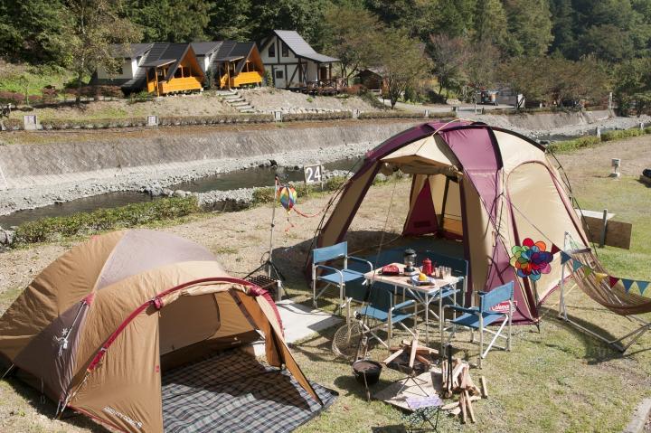 リバー キャンプ 天気 オート ウエスト 場