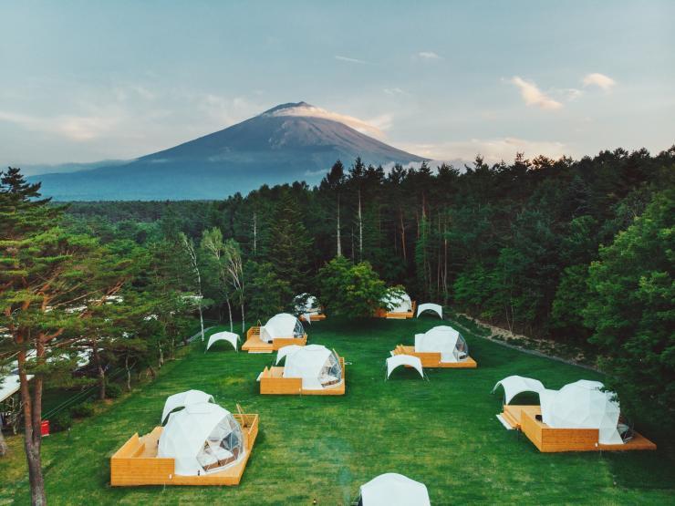 富士山 グラン ピング