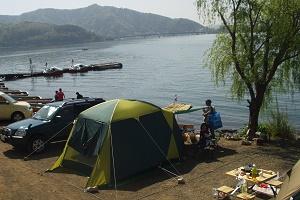 山中湖 キャンプ 場